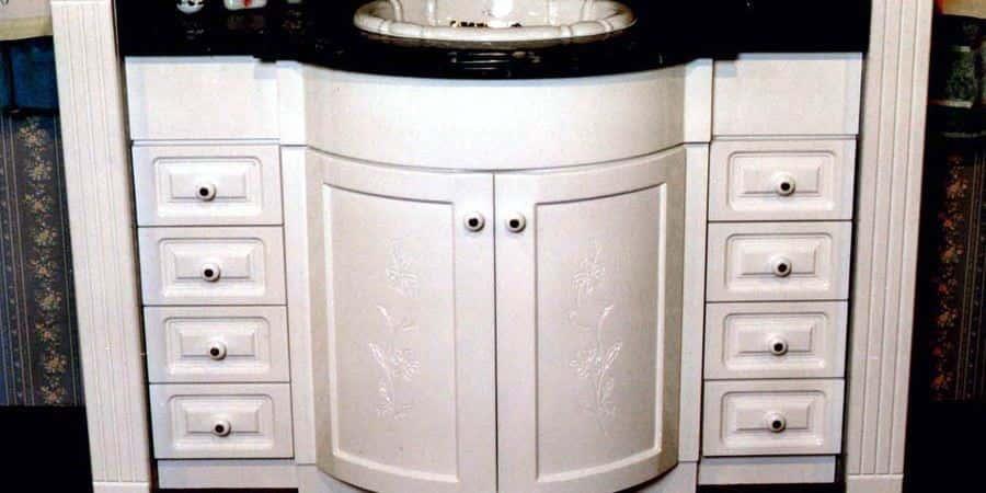 Baños Diseno Clasico:Muebles de Baños Clasicos Laqueados Tegnomueble